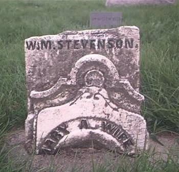 ORR STEVENSON, MARY A - Page County, Iowa | MARY A ORR STEVENSON