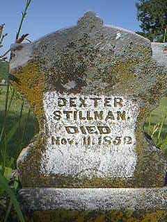 STILLMAN, DEXTER - Page County, Iowa | DEXTER STILLMAN