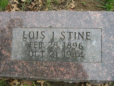 VAWTER STINE, LOIS - Page County, Iowa | LOIS VAWTER STINE