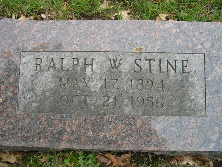 STINE, RALPH - Page County, Iowa | RALPH STINE