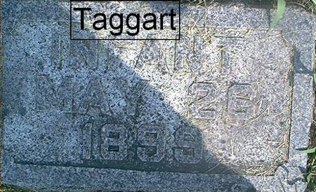 TAGGART, INFANT - Page County, Iowa | INFANT TAGGART