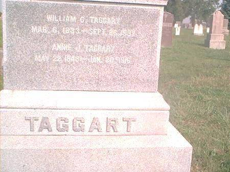 TAGGART, WILLIAM G - Page County, Iowa | WILLIAM G TAGGART