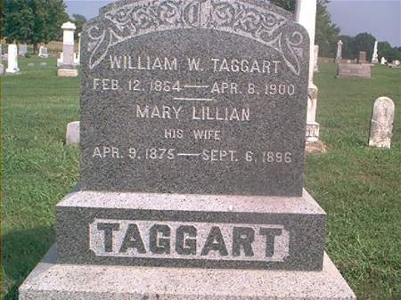 TAGGART, MARY LILLIAN - Page County, Iowa | MARY LILLIAN TAGGART