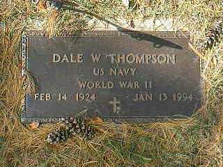 THOMPSON, DALE W. - Page County, Iowa | DALE W. THOMPSON