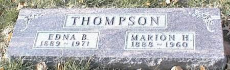 THOMPSON, EDNA BLANCHE - Page County, Iowa | EDNA BLANCHE THOMPSON