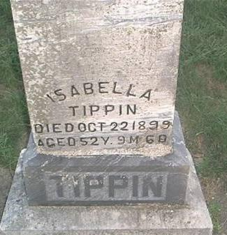 TIPPIN, ISABELLA - Page County, Iowa | ISABELLA TIPPIN