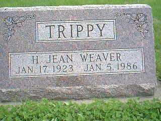 WEAVER TRIPPY, H. JEAN - Page County, Iowa | H. JEAN WEAVER TRIPPY