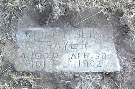 TRAYER, VIOLET OLINA - Page County, Iowa | VIOLET OLINA TRAYER