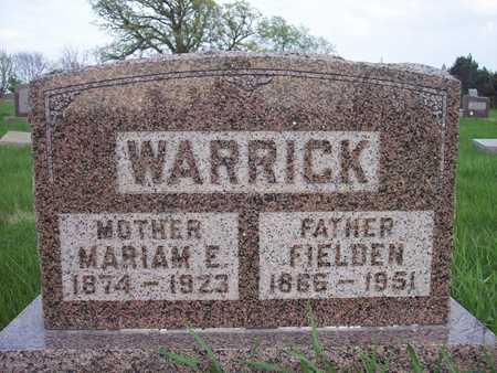 WARRICK, MARIAM E. - Page County, Iowa | MARIAM E. WARRICK