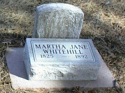 BLAKENEY WHITEHILL, MARTHA JANE - Page County, Iowa | MARTHA JANE BLAKENEY WHITEHILL