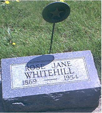WHITEHILL, ROSE JANE - Page County, Iowa | ROSE JANE WHITEHILL