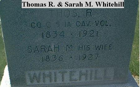 WHITEHILL, THOMAS R. - Page County, Iowa | THOMAS R. WHITEHILL