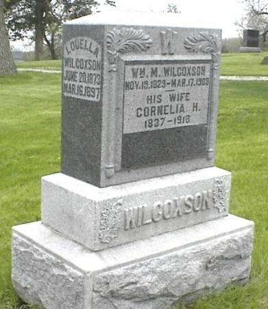WILCOXSON, LOUELLA - Page County, Iowa | LOUELLA WILCOXSON