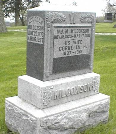 WILCOXSON, WILLIAM M. - Page County, Iowa | WILLIAM M. WILCOXSON