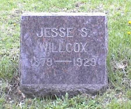 WILLCOX, JESSE S. - Page County, Iowa | JESSE S. WILLCOX