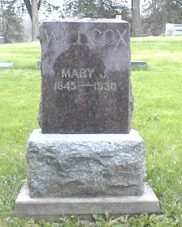 WILLCOX, MARY JANE (KREIDER) - Page County, Iowa | MARY JANE (KREIDER) WILLCOX