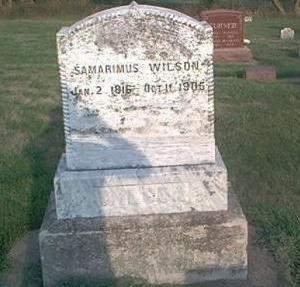 WILSON, SAMARIMUS - Page County, Iowa | SAMARIMUS WILSON