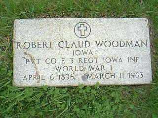 WOODMAN, ROBERT CLAUD - Page County, Iowa | ROBERT CLAUD WOODMAN