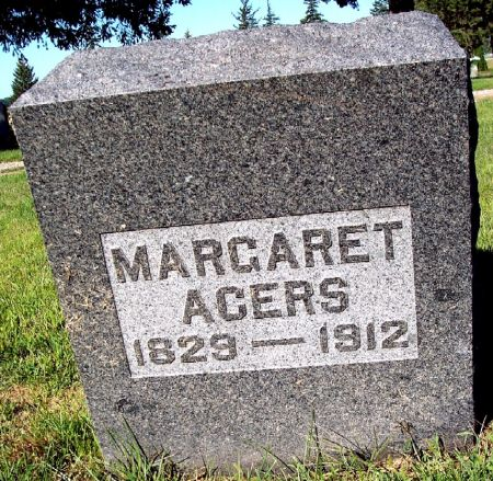 MURPHY ACERS, MARGARET - Palo Alto County, Iowa | MARGARET MURPHY ACERS