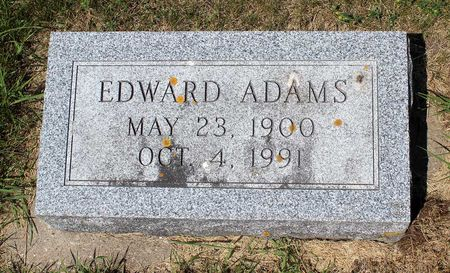 ADAMS, EDWARD - Palo Alto County, Iowa | EDWARD ADAMS