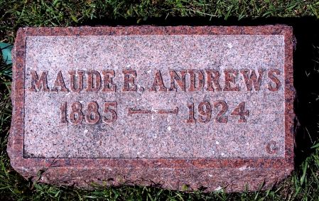 ANDREWS, MAUDE ELIZABETH - Palo Alto County, Iowa | MAUDE ELIZABETH ANDREWS