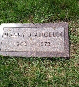 ANGLUM, HARRY - Palo Alto County, Iowa | HARRY ANGLUM
