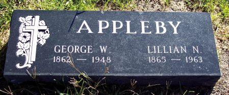 APPLEBY, GEORGE W - Palo Alto County, Iowa | GEORGE W APPLEBY
