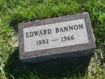 BANNON, EDWARD - Palo Alto County, Iowa   EDWARD BANNON