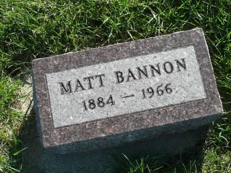 BANNON, MATT - Palo Alto County, Iowa | MATT BANNON