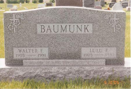 MARTIN BAUMUNK, LULU FRANK - Palo Alto County, Iowa | LULU FRANK MARTIN BAUMUNK