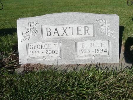 BAXTER, E RUTH - Palo Alto County, Iowa | E RUTH BAXTER