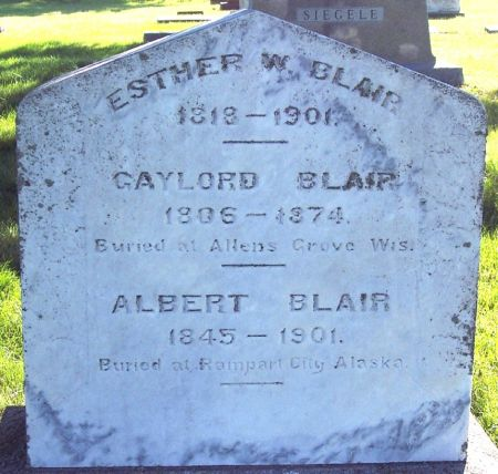 BLAIR, ESTHER W - Palo Alto County, Iowa | ESTHER W BLAIR