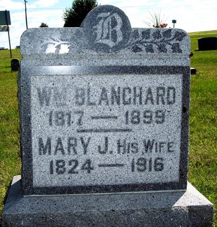 VANKIRK BLANCHARD, MARY JANE - Palo Alto County, Iowa | MARY JANE VANKIRK BLANCHARD