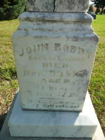 BODDY, JOHN - Palo Alto County, Iowa | JOHN BODDY
