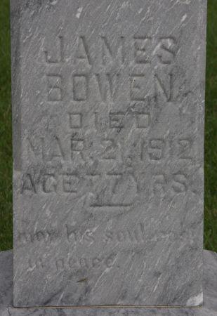 BOWEN, JAMES - Palo Alto County, Iowa   JAMES BOWEN