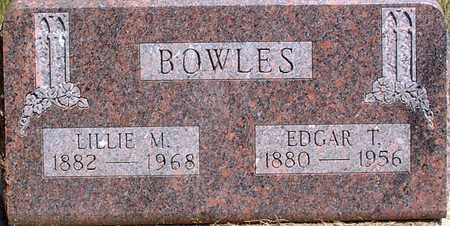 BOWLES, EDGAR - Palo Alto County, Iowa | EDGAR BOWLES