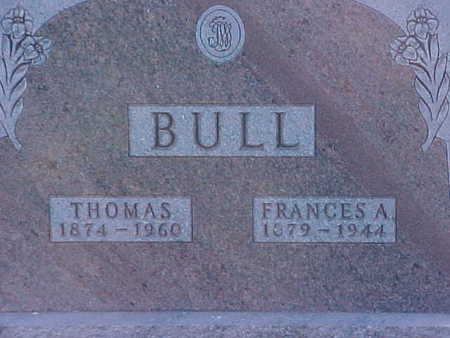 BULL, THOMAS - Palo Alto County, Iowa | THOMAS BULL
