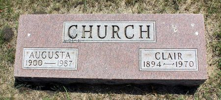 CHURCH, AUGUSTA - Palo Alto County, Iowa | AUGUSTA CHURCH