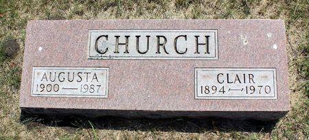 CHURCH, CLAIR - Palo Alto County, Iowa | CLAIR CHURCH