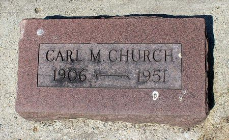 CHURCH, CARL M. - Palo Alto County, Iowa | CARL M. CHURCH