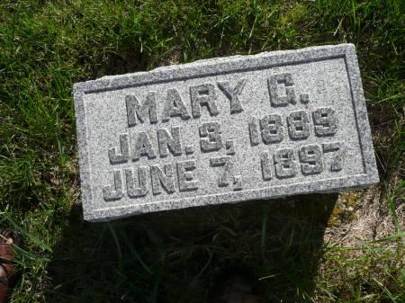 CLAER, MARY G - Palo Alto County, Iowa   MARY G CLAER
