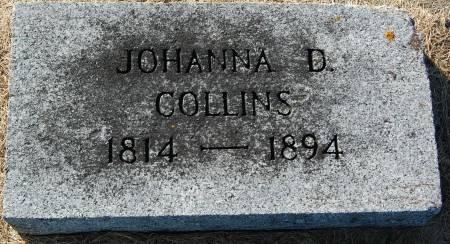 COLLINS, JOHANNA D - Palo Alto County, Iowa | JOHANNA D COLLINS