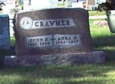 CRAWMER, ANNA MARIE - Palo Alto County, Iowa | ANNA MARIE CRAWMER