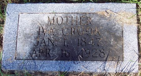 WRIGHT CROOK, IVA BELLE - Palo Alto County, Iowa | IVA BELLE WRIGHT CROOK