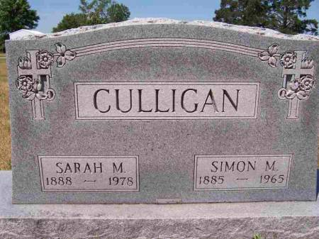 CULLIGAN, SARAH MARY - Palo Alto County, Iowa | SARAH MARY CULLIGAN