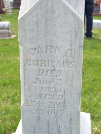 CURRANS, CARN E. - Palo Alto County, Iowa | CARN E. CURRANS