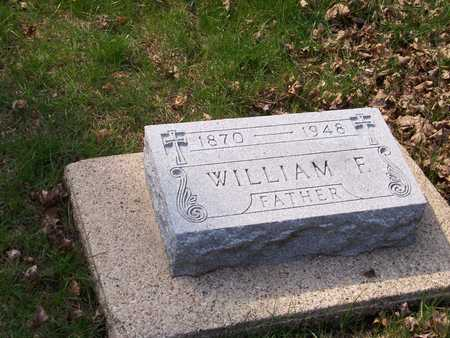 CURRANS, WILLIAM FRANCIS - Palo Alto County, Iowa | WILLIAM FRANCIS CURRANS