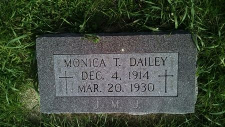 DAILEY, MONICA T. - Palo Alto County, Iowa | MONICA T. DAILEY