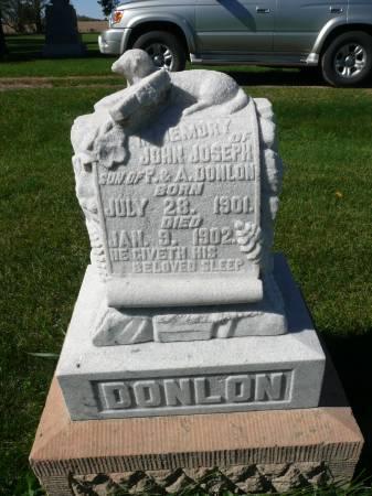 DONLON, JOHN JOSEPH - Palo Alto County, Iowa | JOHN JOSEPH DONLON
