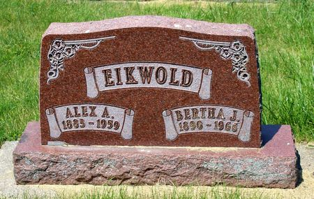 EIKWOLD, ALEX A. - Palo Alto County, Iowa | ALEX A. EIKWOLD